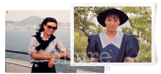 1. 심플한 셔츠와 카디건을 즐겨 입었다. 2. 커다란 칼라가 달린 퍼프 소매 원피스와 커다란 모자까지. 나의 공주풍 패션.