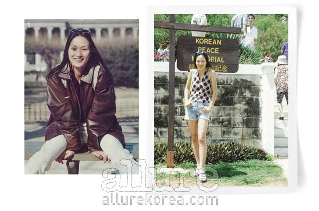 1, 2. 사진은 23세. 여의도 근방. 꿈이 넘치던 그 시절 모델이 되기 위해 막 서울에 올라와서 모델학원에 등록하자마자 찍은 사진. 나에겐 무척 의미 있는 사진이다.