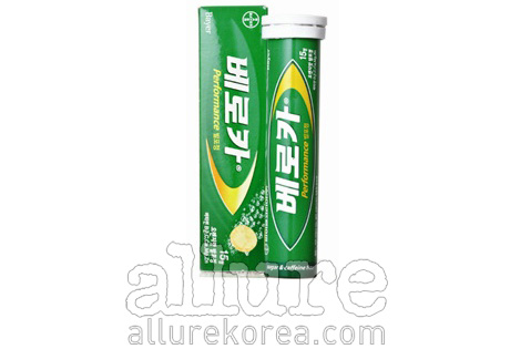 베로카 퍼포먼스 발포정. 15정 1만5천원.