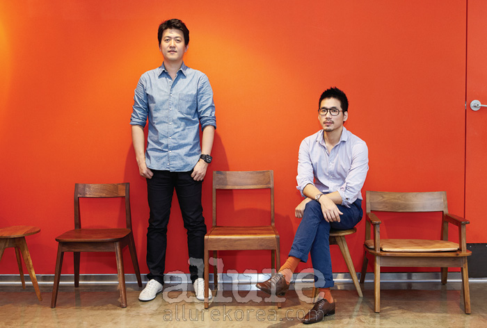 매터앤매터의 송봉규(왼쪽)와 이석우(오른쪽).