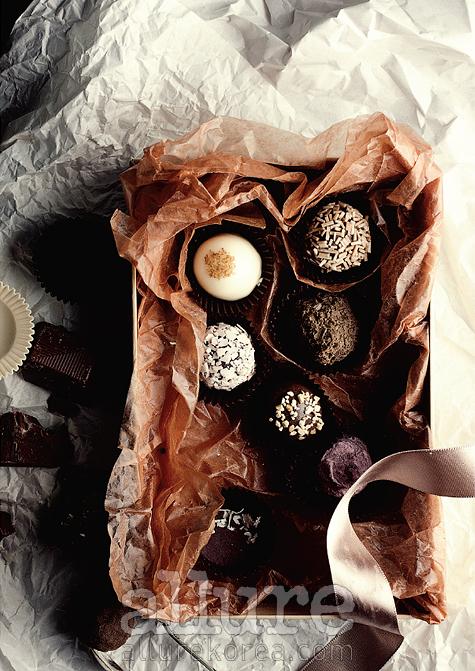 세상에서 가장 달콤한초콜릿 중 하나인고디바.
