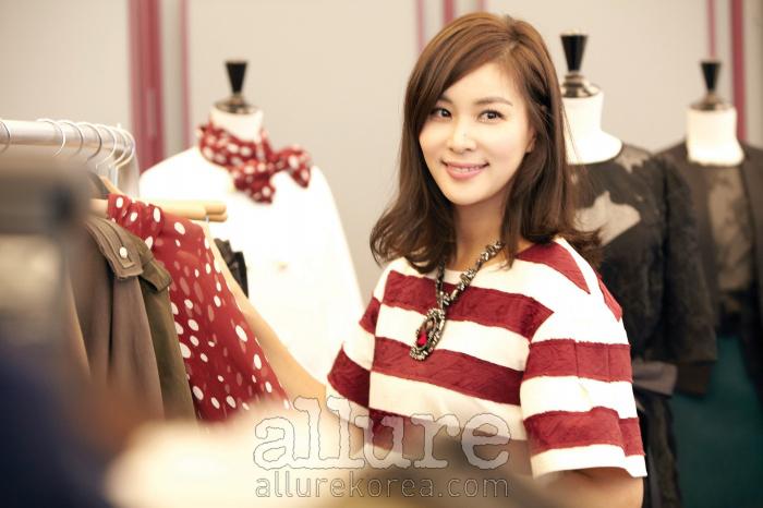 자신의 이름을 건 패션 브랜드'고소영'을 론칭한 배우 고소영.