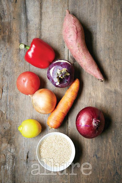 완전 채식을 할 필요는 없지만채소를 더 먹는 건 유익한 일이다.