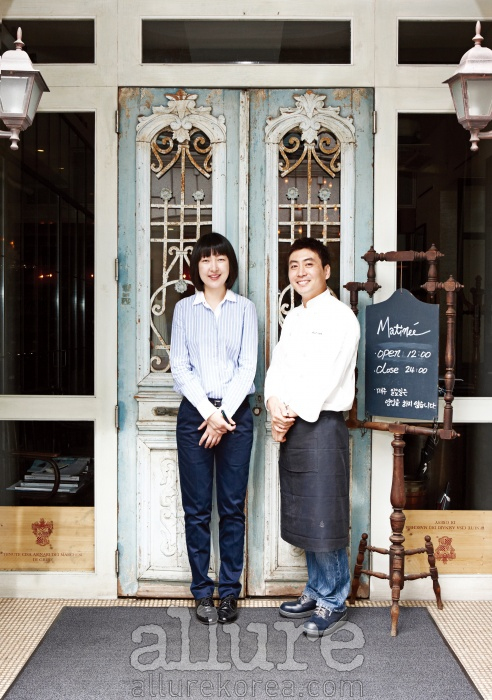 오스테리아 마티네 김주현 매니저와 김병현 셰프