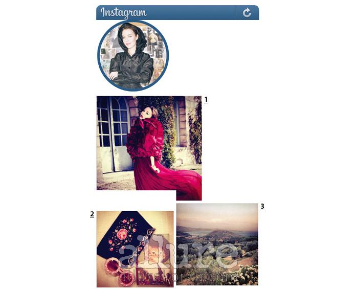 1 지암 바티스타 발리의 멋진 드레스. 2 내가 좋아하는 수첩, 선글라스, 클러치백. 3 피렌체로 향하는 길에 우연히 마주친 멋진 풍경.