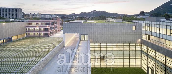 국립현대미술관 서울관의 전경