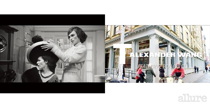 1 키이라 나이틀리 주연의 은 1백년 전 도빌의 작은 모자 가게였던 샤넬의 숍을 그대로 재현했다 2 뉴욕 소호에 위치한 티 바이 알렉산더 왕의 숍에서 촬영한