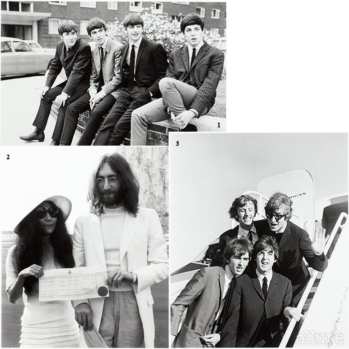 1 풋풋한 20대의 비틀스 2 존 레논과 오노 요코 3 첫 북미투어를 위해 샌프란시스코에 도착한 비틀스