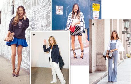 한국계 패션 블로거들의 스타일