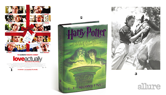 1 겨울이면 생각나는 영화 . 2 세계에서 가장 빨리, 가장 많이 팔린 책  시리즈. 3 취미로 즐기는 승마.