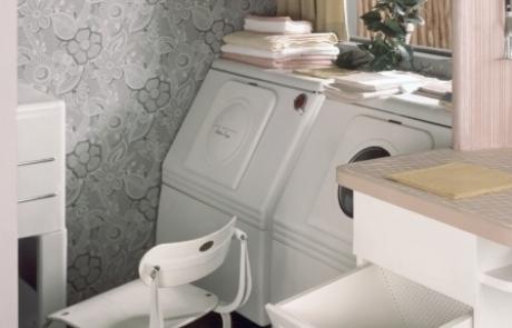겨울 옷, 여기서 세탁하세요.