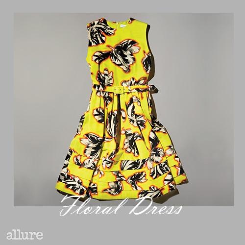 면 소재 드레스는 1백79만원, 조나단 선더스 바이 지스트리트494(Jonathan Saunders by G.Street494).