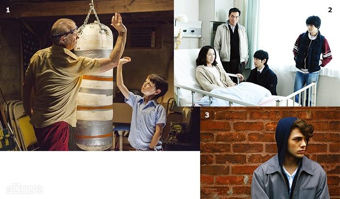 1빌머레이 주연의 <세인트 빈센트>. 2<이별까지 7일>. 3<아이 킬드 마이 마더>.