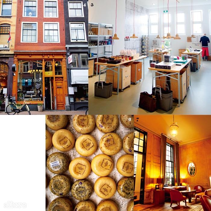 4자전거는암스테르담을 여행하는좋은 방법이다.5제품의진열이 돋보이는 편집숍.6편집숍에서 판매하는비누들.7클래식한분위기의 실내.