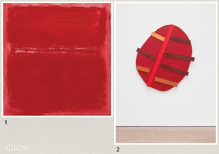 1 마크 로스코, 'Untitled', 1970. 2이미 크뇌벨, 'LUEB Li 109