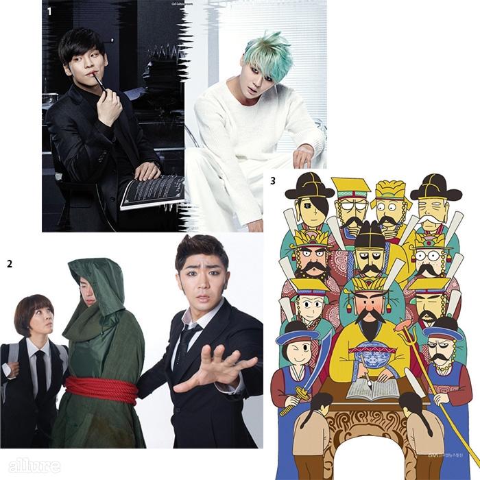 1 <데스노트>의 홍광호와 김준수. 2-3<신과 함께>.