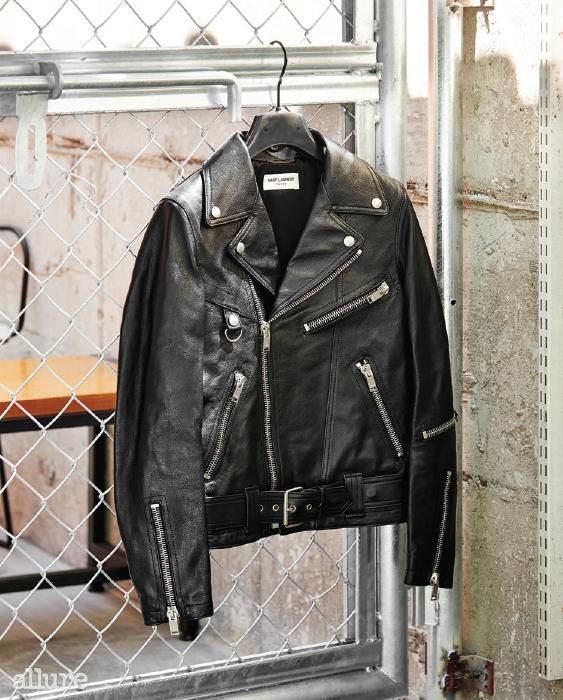 소가죽 소재 바이커재킷은 가격미정,생로랑(Saint Laurent).
