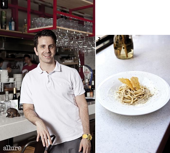 1 브레라의 오너, 지오반니 2로마식 카르보나라 파스타, 토나렐리 카시오 에 페페