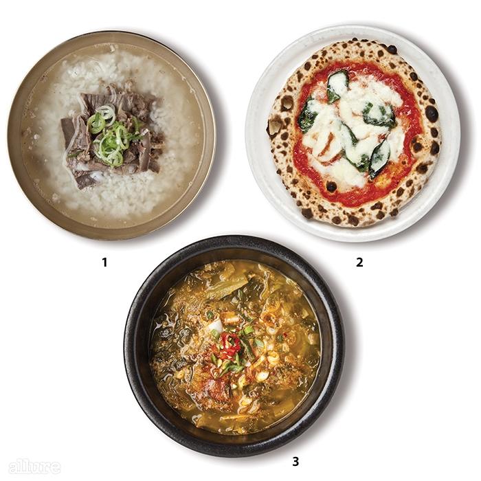 1 수하동의 곰탕 2지아니스 나폴리의 마르게리타 피자 3삼호 짱뚱어의 짱뚱어탕