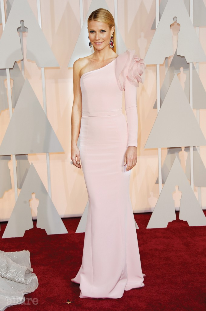 HOLLYWOOD, CA - FEBRUARY 22:  Actress Gwyneth Paltrow attends the 87th Annual Academy Awards at Hollywood & Highland Center on February 22, 2015 in Hollywood, California.  (Photo by Jason Merritt/Getty Images)