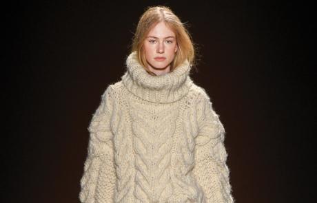 투박하고 묵직한 아란 스웨터의 매력