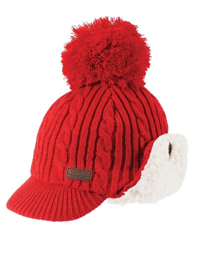 아크릴 소재의 귀마개 모자는 5만9천원, 조 프레시(Joe Fresh).