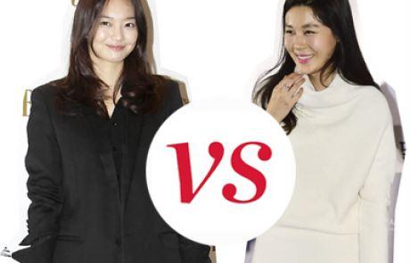 여배우 스타일 대결, 김하늘 vs. 신민아