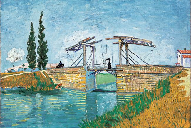 Wallraf-Richartz-Museum & Fondation Corboud, Koeln, Vincent van Gogh, Die Zugbrücke, WRM 1197