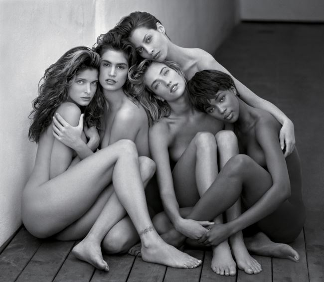 'Stephanie, Cindy, Christy, Tatjana, Naomi'(1989)