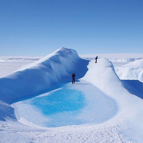 바이폴라이어의 인스타그램을 가득 채운 빙하와 눈을 보고 있으면 서늘한 냉기가 몸을 감돈다. 겨울의 시린 아름다움을 가장 잘 표현하고 있는 계정이다.