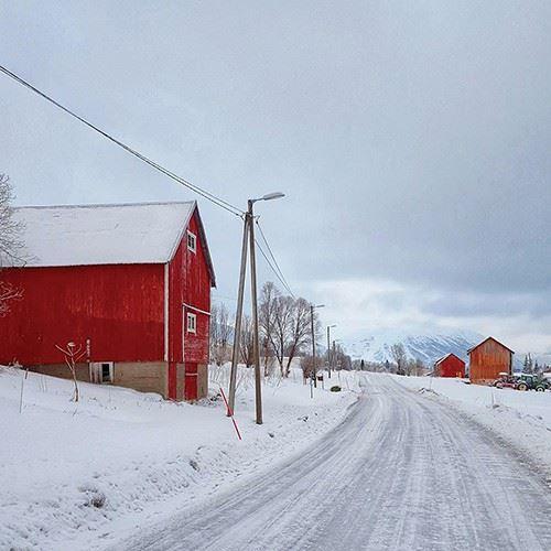 앤 | @ANNE.IN.THE.ARCTIC 노르웨이 트롬소에 살고 있는 앤은 일상에서 마주하는 풍경을 휴대폰 카메라로 찍는다. 광활한 자연을 품은 노르웨이의 겨울 풍경은 이토록 아름답다.