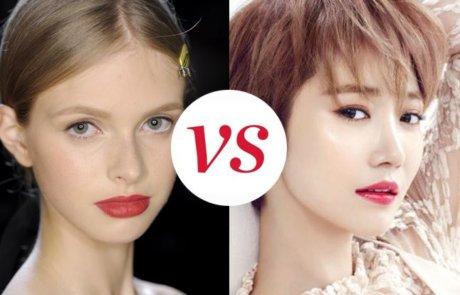 여성스러운 매력을 어필하는 립 컬러, 레드 VS. 핑크