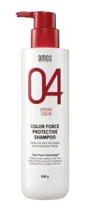 아모스 프로페셔널의 칼라포스 프로텍티브 샴푸 모발의 색소 손실을 막아 염색 컬러가 오래 유지되도록 돕는다. 500g 1만원대.