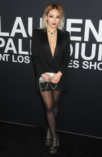Celebrities attend the  Saint Laurent  event held at the Hollywood Palladium.