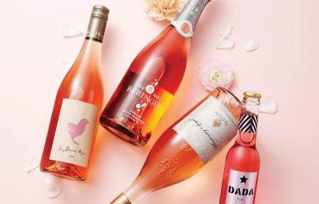 로맨틱한 무드를 더해줄 분홍빛 와인들