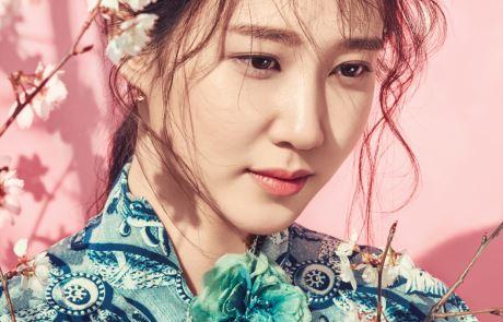 봄날의 숲에서 만난 배우 박은빈
