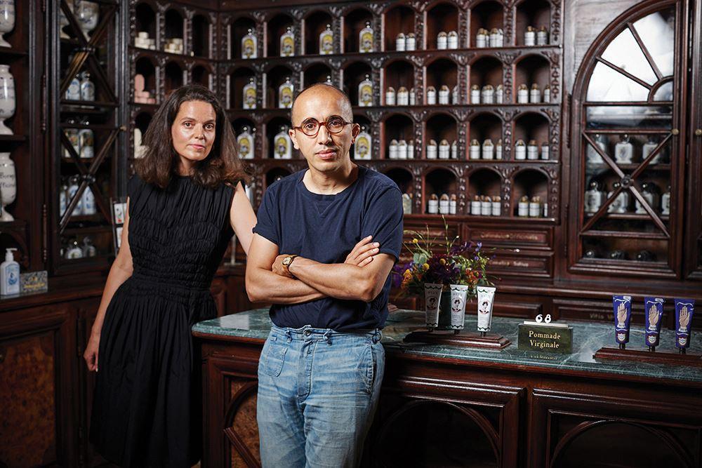 CEO인 빅토르 드 타일라와 람단 투아미 부부.