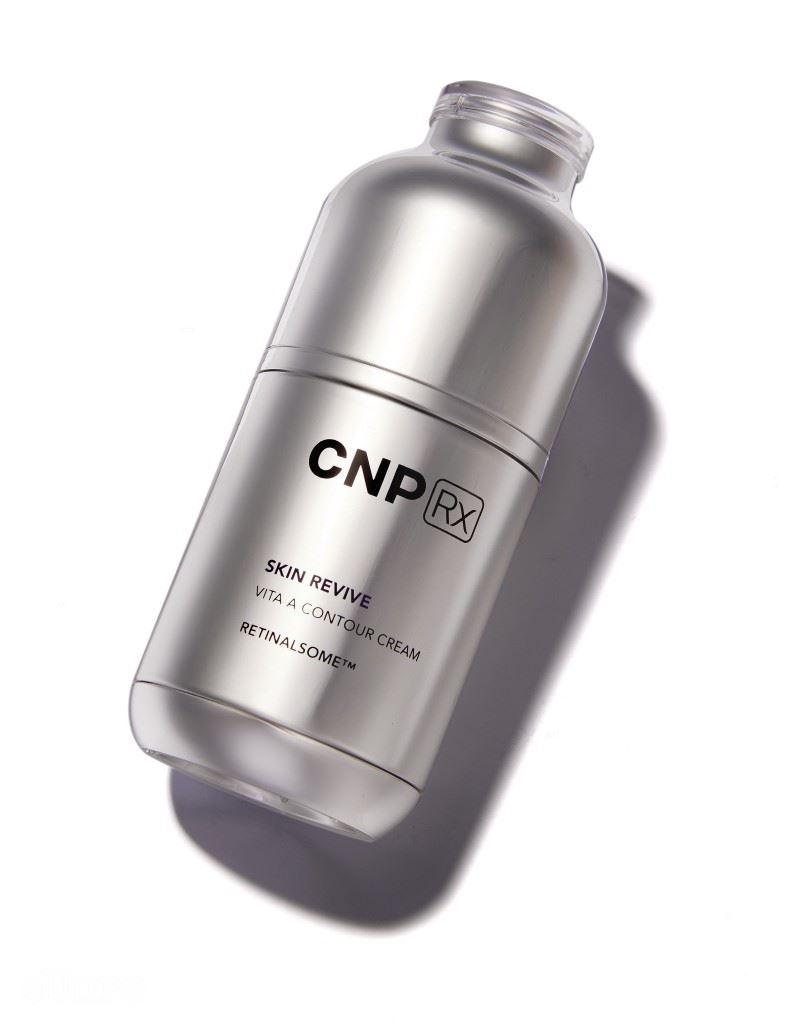 CNP Rx의 스킨 리바이브 비타 에이 콘투어 크림. 40ml 15만원.