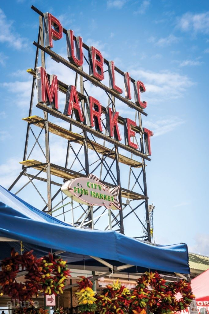 Pike Place Market, Seattle, WA.