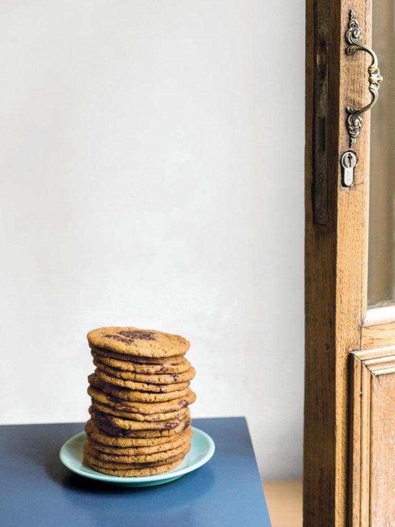 탕벨의 클래식한 초코칩 쿠키.