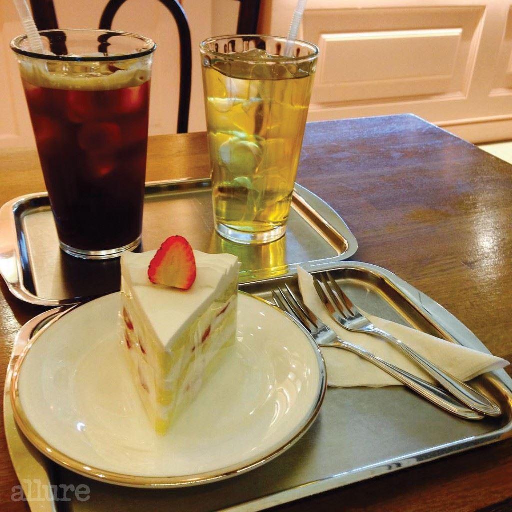 쉘리케이크 딸기쇼트케이크