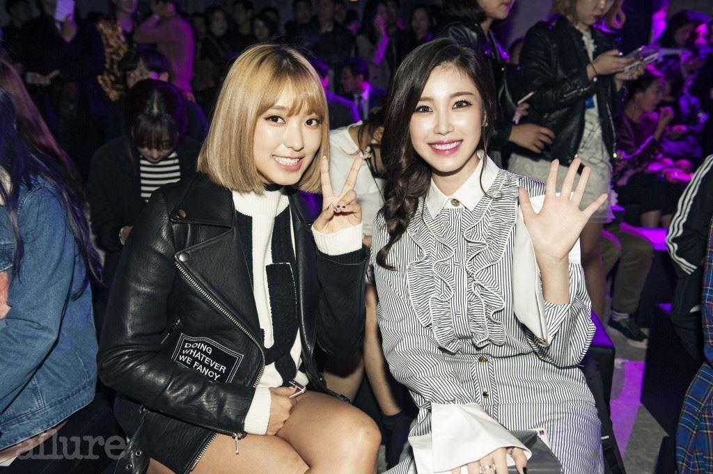 씨스타 보라와 시크릿 전효성