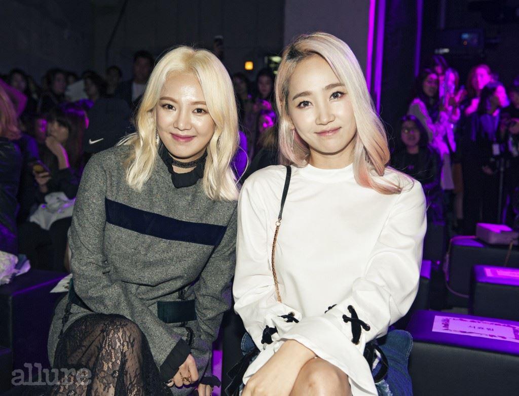 소녀시대 효연과 원더걸스 예은