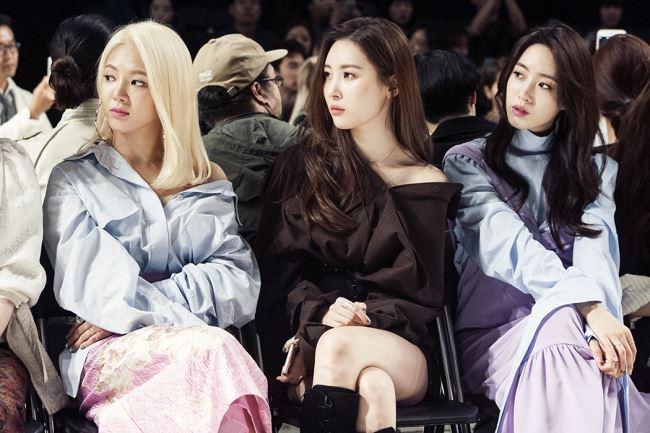 소녀시대 효연, 원더걸스 선미, 티아라 은정