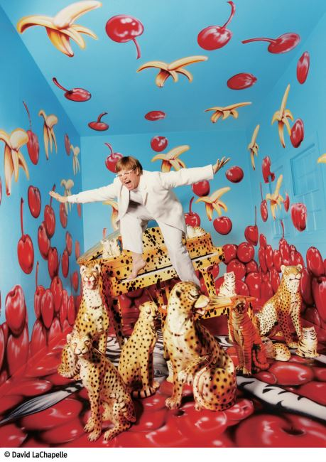 ⓒ David LaChapelle _ Elton John Never, Enough, Never Enough; New York, 1997