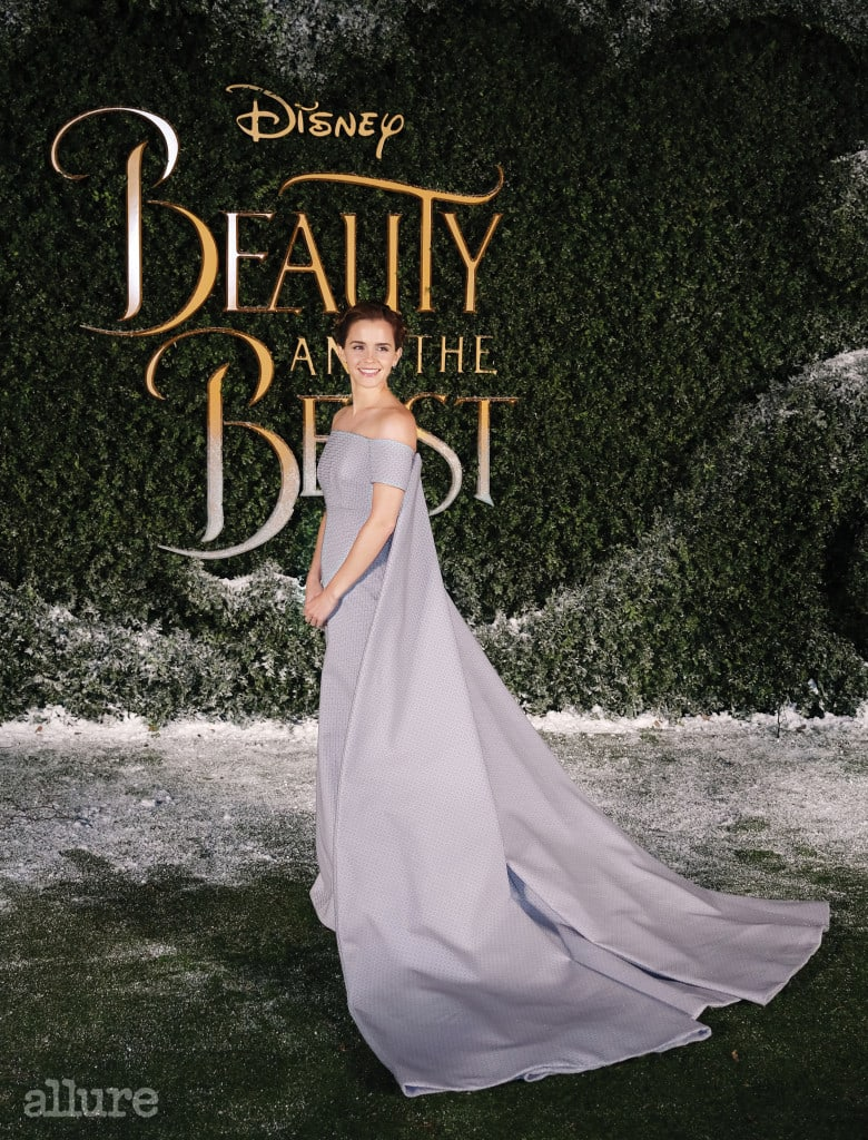 Emma Watson shines in a ballgown at the Beauty & The Beast photocall in London. The actress was joined by co-star Dan Stevens as she posed in a lilac gown for the upcoming Disney remake.  Pictured: Emma Watson Ref: SPL1448366  230217   Picture by: Butterworth / Splash News Splash News and Pictures Los Angeles:310-821-2666 New York:212-619-2666 London:870-934-2666 photodesk@splashnews.com