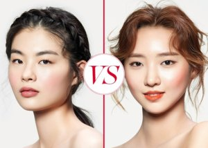 코랄 오렌지 VS. 로즈 핑크