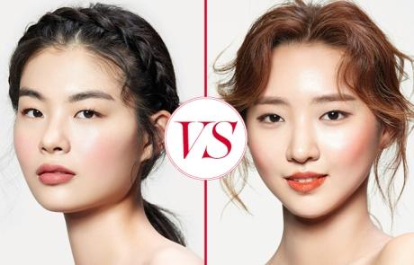로즈 핑크 VS. 코랄 오렌지