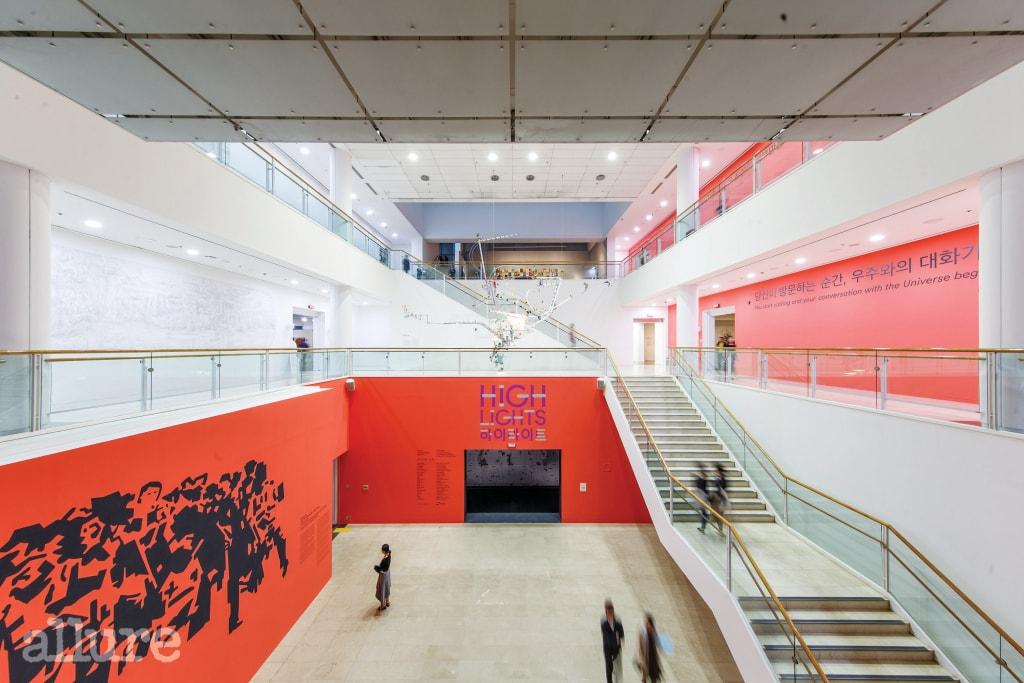 전이 열리고 있는 서울시립미술관.