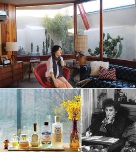 5 비트 세대의 문학, 에드 루샤와 호크니, 그리고 사막 모더니즘 건축의 창시자라 할 수 있는 존 로트너의 주택 디자인 등 20세기 캘리포니아에 영감을 받은 크리에이터를 탐닉한다.6 내게 에너지를 주는 노란색 화장품들. 7 콜레트의 스타일은 파격적이고 아방가르드하다. 그녀의 삶, 그녀의 글 역시 그러했다.